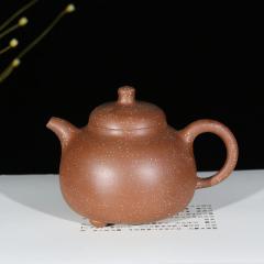 三足乳鼎430cc  原矿挑砂降坡泥【徐小平作品】宜兴紫砂壶