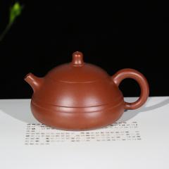东瓢160cc  原矿大红袍泥【朱大伟作品】宜兴紫砂壶