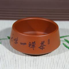 紫砂品杯80cc  原矿朱泥【民间艺人作品】宜兴精品紫砂杯