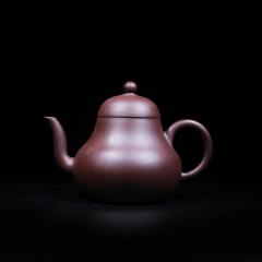 高梨形150cc 原矿紫泥【经典陶坊作品】宜兴紫砂壶