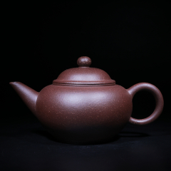 水平壶150cc 原矿紫泥【经典陶坊作品】宜兴紫砂壶