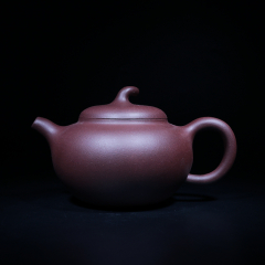 乐顶梨200cc 原矿紫泥【经典陶坊作品】宜兴紫砂壶