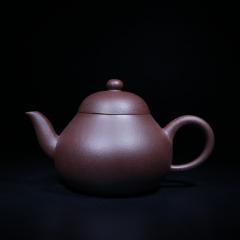 梨形壶150cc 原矿紫泥【经典陶坊作品】宜兴紫砂壶