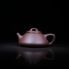 石瓢壶120cc 原矿紫泥【经典陶坊作品】宜兴紫砂壶