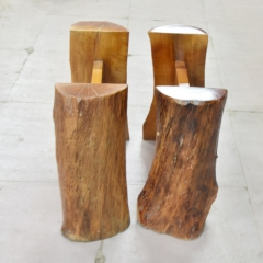 实木大板桌 配套桌角 赠品 高60cm