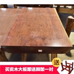 巴花大板桌 实木大板 148*77*10
