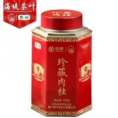 中粮中茶 海堤茶叶 珍藏肉桂(长征版) 武夷山肉桂 100克/罐