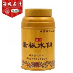 海堤茶叶 金罐老枞水仙茶 珍藏版 特级 125克/罐