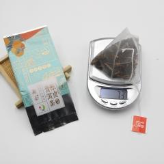 【品鉴装】侨一  陈皮普洱茶 (泡袋装) 柑普茶  熟茶   7克/小袋 1小袋