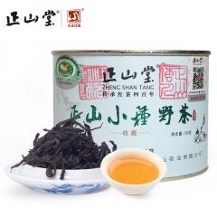 正山堂茶业  正山小种野茶  武夷红茶 100克/罐