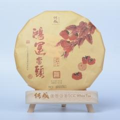 传成老树白茶鸿运当头 2015年采摘 寿眉  特级 300克/饼