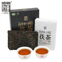 2020年白沙溪 御品茯砖·茯茶 安化黑茶 318克/盒