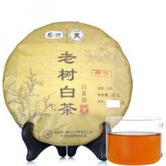 中粮中茶 蝴蝶白茶 5901老树白茶白茶饼 357克/饼 2014年