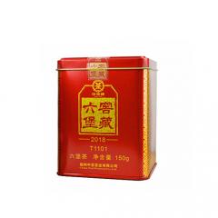 中茶六堡茶 窖藏T1101(2018版)梧州六堡茶 散茶 150克/罐