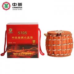 中茶六堡茶 5105箩装窖藏 梧州六堡茶 500克/箩
