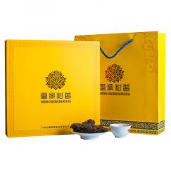 2017年云鼎柑普 陈皮普洱饼茶 礼盒装 357克/饼
