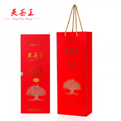 英茶王 虫口茶长形礼盒 正宗英德红茶 100克/盒