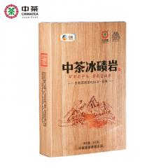 2018年 中粮中茶 百年木仓 冰碛岩 手筑茯砖茶 1千克/盒