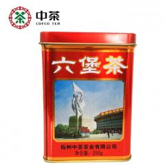 2016年 中茶六堡茶 老八中工体罐 红罐 250克/罐