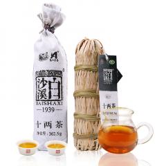 白沙溪 十两茶 安化二级黑毛茶 362.5克/支