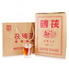 2019年 白沙溪 手筑茯砖茶 安化黑茶 2.5千克/片