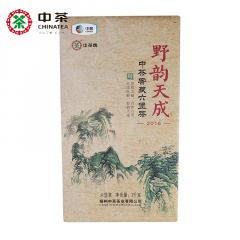 2016年 中茶六堡茶 8325野韵天成 砖茶 礼盒装 2000克/盒