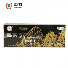 2018年 中茶六堡茶 7053黑盒 散茶 200克/盒