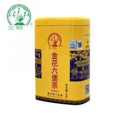 三鹤六堡茶 金花六堡茶 广西六堡茶 200克/罐