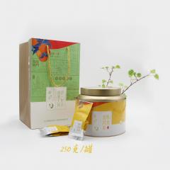 侨一  陈皮普洱茶(袋装)  柑普茶  熟茶 250克/罐