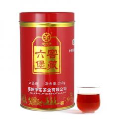 中茶六堡茶 6136窖藏红罐六堡茶 梧州六堡茶 250克/罐