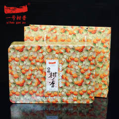 一号柑普 新会柑香柑普茶 2012年勐海熟普+新会柑果 430克/盒