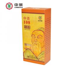 中茶六堡茶 8059中茶108 梧州六堡茶 250克/盒