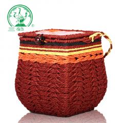 三鹤六堡茶 2503箩装六堡茶 广西六堡茶 二级 500克/箩