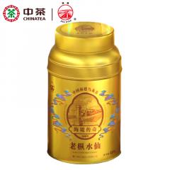 中茶 海堤茶叶 AT1020海堤传奇 老枞水仙 乌龙茶 125克/罐