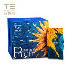 德高信 T三有机茶 绵绵红茶 艺术装 英德红茶 32克/盒