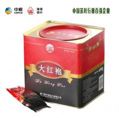 中茶 海堤茶叶 AT111大红袍 武夷大红袍 乌龙茶 400克/罐