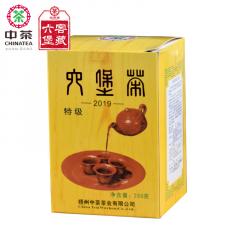2019年 中茶六堡茶 5028黄盒六堡茶 盒装 250克/盒