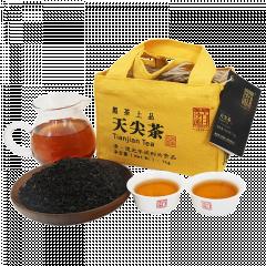 2019年白沙溪 天尖茶 安化黑毛茶 传统天尖茶竹篓装 1千克/篓