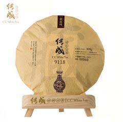 传成老树白茶 9118(19) 福鼎白牡丹 300克/饼