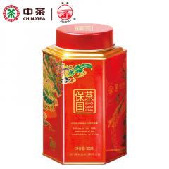 中茶 海堤茶叶 保国茶 肉桂 武夷岩茶 100克/罐