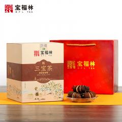 宝福林 三宝茶(三宝扎) 新会陈皮+福鼎白茶+禾秆草 250克/盒