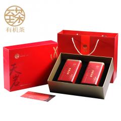 德高信 至茶有机茶·天岩 英德红茶 礼盒装 150克/盒