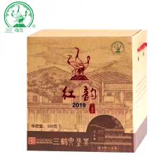 三鹤六堡茶 红韵六堡茶 广西六堡茶  500克/盒