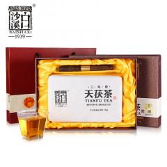 2020年 白沙溪 三年陈天茯茶  安化黑毛茶 1000克/盒