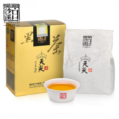 2019年白沙溪 天尖茶 安化黑毛茶 纸盒装 200克/盒