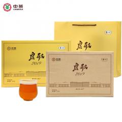 中茶 HT2255启航2019·茯砖茶 安化黑茶 3千克/盒