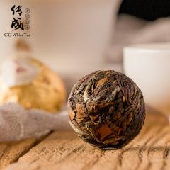 传成老树白茶 9316(20)儒家五常  2014年采摘 福鼎寿眉 150克/盒