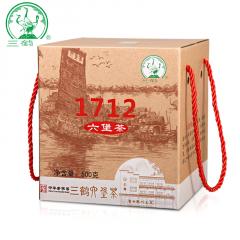 三鹤六堡茶 1712六堡茶 广西六堡茶 500克/盒