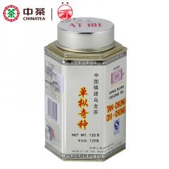 中茶 海堤茶叶 AT101单枞奇种茶 大岩奇种 乌龙茶 125克/罐