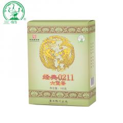 三鹤六堡茶 经典0211 梧州六堡茶 100克/盒
